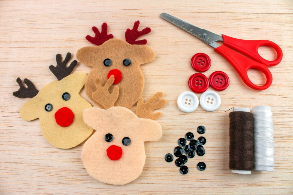 Hjemmelavet julepynt er også en hyggelig aktivitet til jul